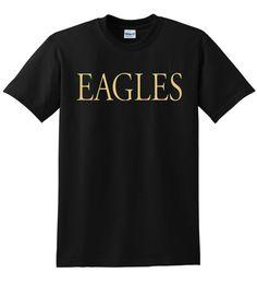 the eagles glenn frey logo tribute t shirt by DDPrintsUK on Etsy