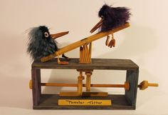 Tweeter Totter Automaton + VIDEO by Madelei