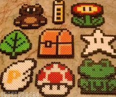 Mario perler beads - Perler / Hama / Melty / Fuse