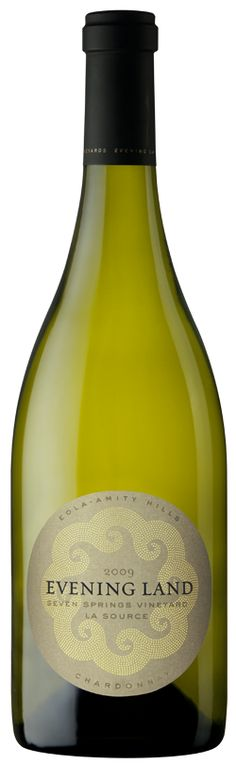 Evening Land La Source Chardonnay - a 97 point Wine Spectator Wine. Oregon winery with old world style. Didn't want the bottle to end.