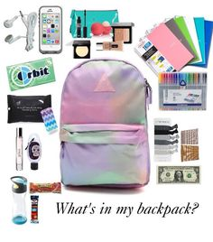 awesome What's in my backpack? Backpack school essentials locker back to schoo… awesome What's in my backpack? Backpack school essentials locker back to schoo…,School awesome What's in my backpack? Backpack school essentials locker back. Middle School Supplies, Middle School Hacks, High School Hacks, School Kit, College Supplies, Back Packs School, Middle School Clothes, Back To School Tips, Middle School Lockers