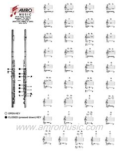 Flute Notes Chart Constellation Aviation Consulting