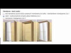 GORYNIAK Wycena szafy wnękowej przesuwnej - instrukcja online