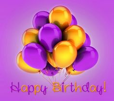Happy Birthday - BALLOONS --- http://tipsalud.com -----