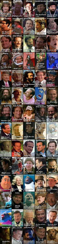 The Many Faces of Robin Williams - Album on Imgur