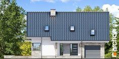 Dom pod liczi 5 (P) Bungalow House Design, Design Case, Garage Doors, Multi Story Building, Villa, Cottage, Architecture, Outdoor Decor, Projects