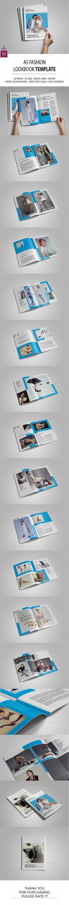 A5 Lookbook Template - Catalogs Brochures Download here : https://graphicriver.net/item/a5-lookbook-template/19466081?s_rank=44&ref=Al-fatih