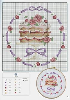 Sweet cross stitch.