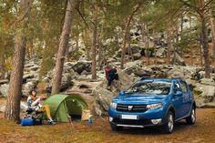 #Dacia #Sandero #Stepway este partenerul perfect pentru camping!