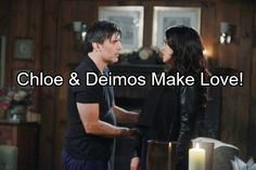 'Days of Our Lives' Spoilers: Chloe and Deimos Make Love – Nicole Shows Up to Find Deimos Alive, Demands His Return to Salem