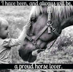 Once a horse lover.always a horse lover! Cowgirl And Horse, My Horse, Horse Tack, Cowgirl Quote, Horse Stalls, Horse Barns, Cowgirl Style, Pretty Horses, Beautiful Horses