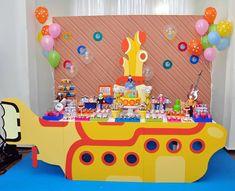 Festa Submarino Amarelo | Design Festeiro