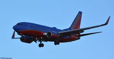 Southwest Airliner, coming in for a landing at the Philadelphia International Airport, descending over Ft. Mifflin in Philly.