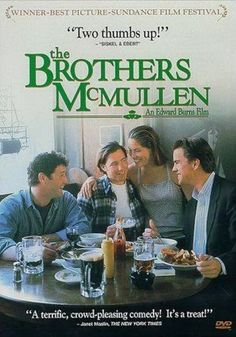 The Brothers McMullen Premiered 9 August 1994, movie poster, Ed Burns, Irish