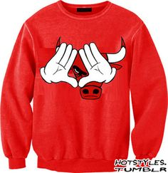 "Chicago ""Diamond"" crewneck sweater. Chicago. Bulls. Roc. Kanye. Enough said."