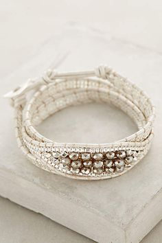 white sands wrap bracelet #anthrofave #hamptonsstyle