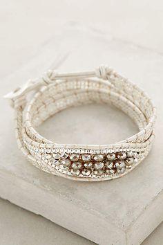white sands wrap bracelet #anthrofave #hamptonsstyle