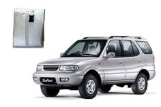 motorTREAT- Body Cover for TATA Safari - This body cover for TATA Safari from motortreat.com is of good Quality Fabric. It is Water-resistant and protects your car from dust and fading away of paint. It is light and easily handled. Matches body profile perfectly. It has Clamping. It is reflective silver colour to keep your car cool. - Elegant Silver Colour.