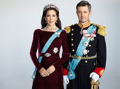 New Photos of Crown Princess Mary and Crown Prince Frederik
