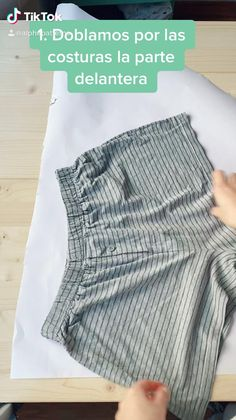 Clothes Crafts, Sewing Clothes, Sewing Basics, Sewing Hacks, Fashion Sewing, Diy Fashion, Fashion Design Classes, Diy Clothes Design, Diy Summer Clothes