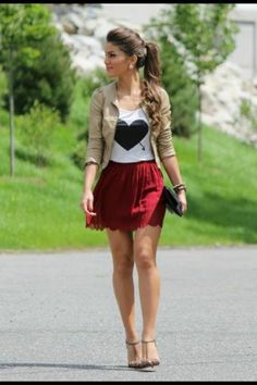 Cute outfit!!! Love it
