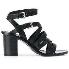 True Size Shoes Women Ash Puket Sandal Black Leather