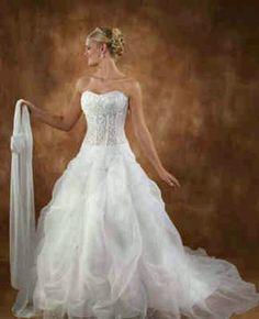 One wedding dress(;