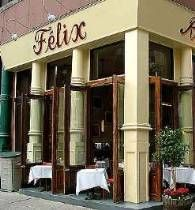 Félix is situated on a corner in downtown Soho NYC with french doors that open up all around for ultimate people watching. With its authentic, worn-in, comfortable french decor, its international crowd, upbeat ambiance and awesome cultural flavor, day or night, this popular and long-lasting hangout makes for a fabulous dining experience.  http://felixnyc.com/soho/