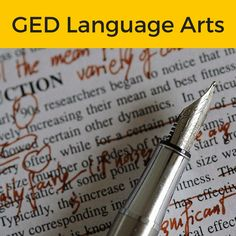 Passing the #GED #RLA is easy once you have a good understanding of what's on the test, and how your responses will be graded! Check out our GED Reasoning through Language Arts Guide where you can find everything that you need to know on this subject.  #Study #Guide #TestPrepToolkit #GEDStudy #GEDTest #OnlineClasses #PracticeTests