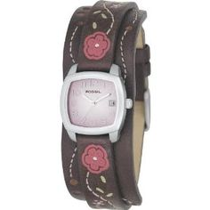 Fossil Analog Pink Dial Watch 65$