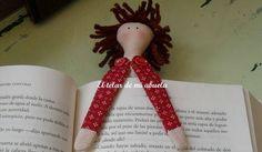 Meu Mundo Craft: Boneca Marcador de livro