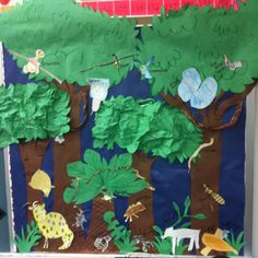 Great board for a rainforest unit! :)