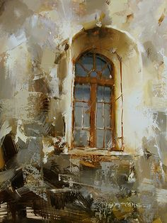 Through the Ages by Tibor Nagy Oil ~ 16 x 12