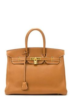 Vintage Hermes Leather Birkin