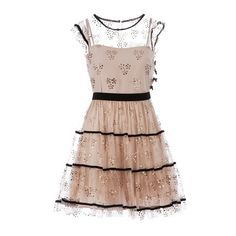 RED VALENTINO Empire line lace dress and other apparel, accessories and trends. Browse and shop 8 related looks.