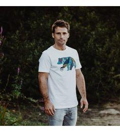 Tee-shirt homme FUNKY BEAR - La marque 64