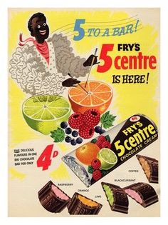 Fry's 5 centre chocolate bar - the green bit was my favourite! Old Sweets, Vintage Sweets, Retro Sweets, Vintage Candy, Vintage Food, Retro Food, 70s Food, 1970s Childhood, My Childhood Memories