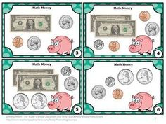 Money FREE: Here are six common core math money task cards to help your students count dollars and coins. A student response form, mini-writing assignment and answer key are also provided. Math money task cards are a great alternative to printable worksheets. Students may play SCOOT, have a scavenger hunt, or play other games allowing for movement in the classroom! CCSS.MATH.CONTENT.2.MD.C.8