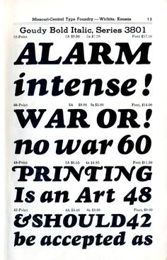 Fred Goudy designed Goudy Heavyface in 1925 for Monotype to cash in on the demand for heavy serif fonts like Cooper Black. Sort of like how type designers today are cranking clones of Brandon Grotesque and Circular.