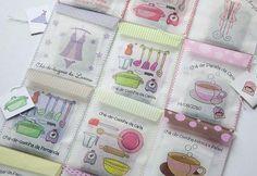 Lembrançinhas para Chá de Panela... saquinhos de chá personalizados!