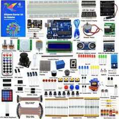 Cheapest prices US $50.99  Adeept DIY Electric New Ultimate Starter Learning Kit for Arduino UNO R3 with Guide Book Motor Processing LED Book diy diykit  Available latest products: Tablet PC