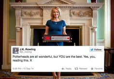 When she loved her fans as much as they love her. | 18 Times J.K. Rowling Was The Undisputed Queen Of Twitter