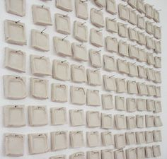 Clay Mosaique by CHRISTINE HECHINGER