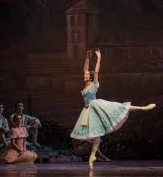 "Natalia Berrios : Primera Bailarina del Ballet de Santiago""Giselle"""