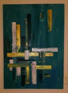 """JOLI TABLEAU PEINTURE ABSTRAITE """"URBAN 2"""" AU COUTEAU : Peintures par eden-emotions Urban, Modern Art, Abstract Art, Etsy, Vintage, Deco, Painting, Colorful, Inspiration"""