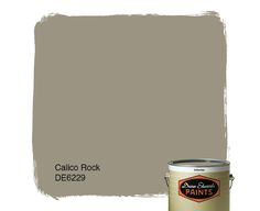 Dunn-Edwards Paints paint color: Calico Rock DE6229 | Click for a free color sample #DunnEdwards
