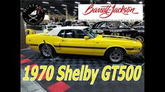 Rare !1970 SHELBY GT500 CONVERTIBLE Lot #747  Sold $137,500@BarretMustan...