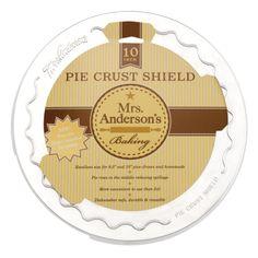 Amazon.com: Mrs. Anderson's Baking Pie Crust Shield, 10-Inch: Pie Pans: Kitchen & Dining