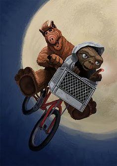 Alf & E.T.