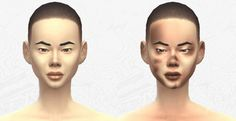 Dirty skin at DecayClown's Sims via Sims 4 Updates